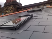 Roofing In Natural Slate
